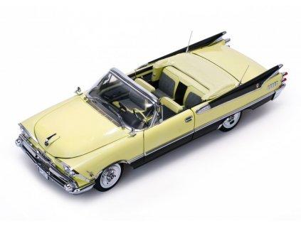 Dodge Custom Royal Lancer 1959 open Convertible žluto černá 1 18 Sun Star Platinum 5473 01