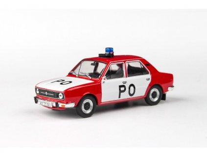 Škoda 105L 1977 úžovka Požární Ochrana 1 43 Abrex 143ABSX 723XL 01