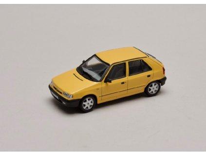 Škoda Felicia 1994 litá kola žlutá Pastelová 1 43 Abrex 143ABS 709GI 01