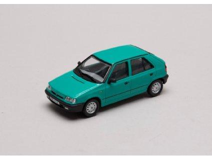 Škoda Felicia 1994 %22plechové disky%22 zelená Atlantická 1 43 Abrex 143ABS 709HT 01
