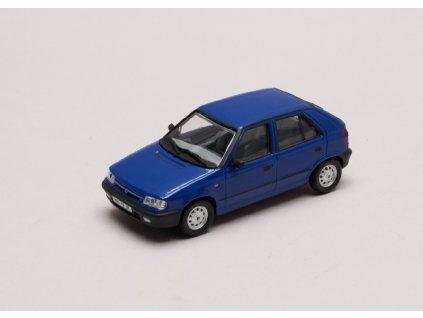 Škoda Felicia 1994 %22plechové disky%22 modrá Arktická 1 43 Abrex 143ABS 709LZ 01