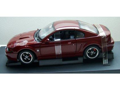 Ford Mustang GT 2004 40th anniversary vínová 1:18 Auto Art