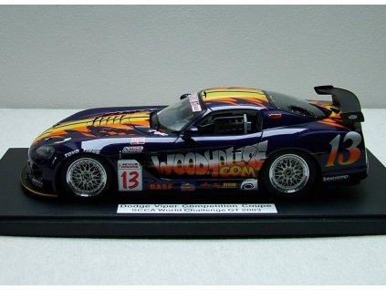 Dodge Viper Competition Coupé 2003 # 13 Woodhouse 1:18 Auto Art