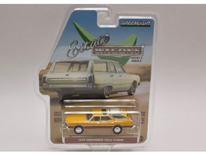 Oldsmobile Vista Cruiser 1970 %22Estate Wagons%22 1 64 Greenlight 29950 C 01