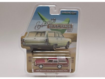 Mercury Grand Marguis Colony Park 1985 %22Estate Wagons%22 1 64 Greenlight 29950 F 01