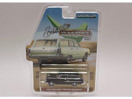 Chevrolet Two Ten Handyman 1955 %22Estate Wagons%22 1 64 Greenlight 29950 B 01