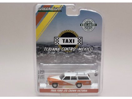 Ford LTD Crown Victoria 1988 Taxi Mexico 1 64 Greenlight 30026 01