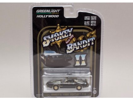 Pontiac Trans Am 1980 Smokey and the bandit II 1 64 Greenlight 44710 B 01