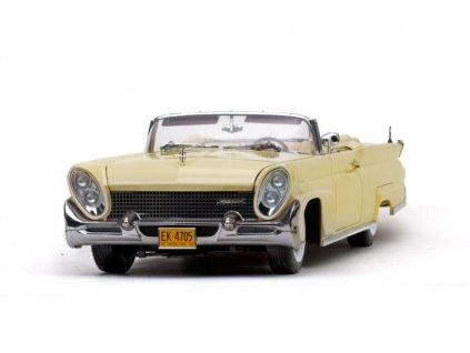 Lincoln Continental MK III 1958 Convertible šampaňská žlutá 1 18 Sun Star Platium 4705 01
