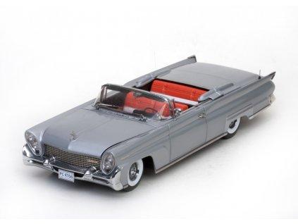 Lincoln Continental MK III 1958 Convertible stříbrno šedá 1 18 Sun Star Platium 4706 01
