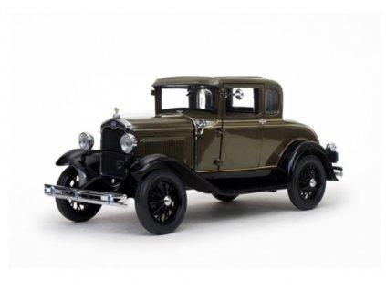 Ford Model A 1931 Coupé olivová černá 1 18 Sun Star 6132 01