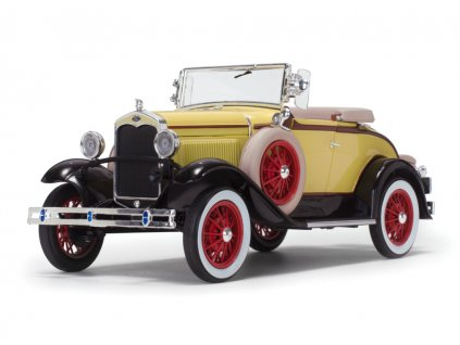 Ford Model A 1931 Roadster žlutá černá 1 18 Sun Star 6122 01