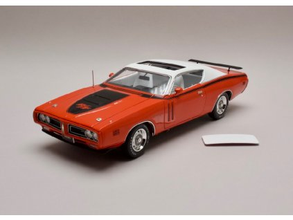 Dodge Charger R T 1971 Hard top with Sunroof oranžová 1 18 Auto World AMM1148 01
