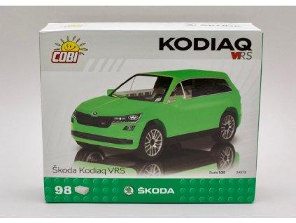 Škoda Kodiaq VRS zelená stavebnice 98 kostek 1 35 COBI Factory SA 01