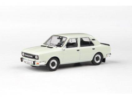 Škoda 120L 1982 úžovka bílá Ledová 1 43 Abrex 143ABS 724EB 01