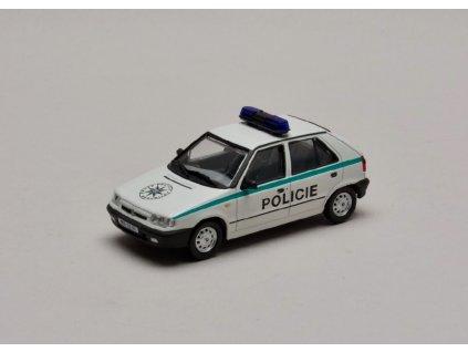 Škoda Felicia 1994 Policie ČR %22plechové disky%22 1 43 Abrex 143ABS 709XA 01