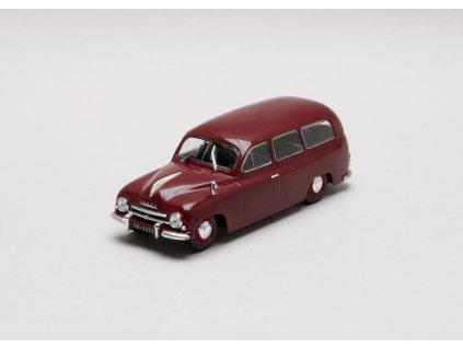 Škoda 1201 STW 1956 vínová 1:43 Car Selection