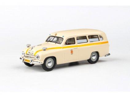 Škoda 1201 1956 Sanitka Záchranka Brno 1 43 Abrex 143ABSX 718XO1 01