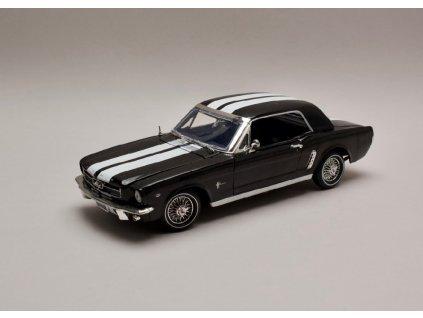 Ford Mustang 1964 1 2 Hard top černá 1 18 Motor Max 73164 01