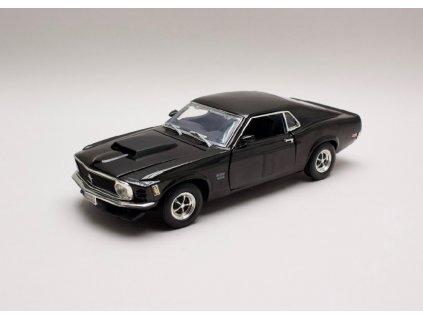 Ford Mustang Boss 429 1970 černá 1 18 Motor Max 73154 01