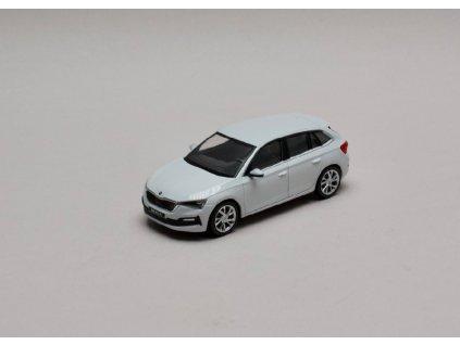 Škoda Scala bílá Moon 1 43 i scale 657099300S9R 01