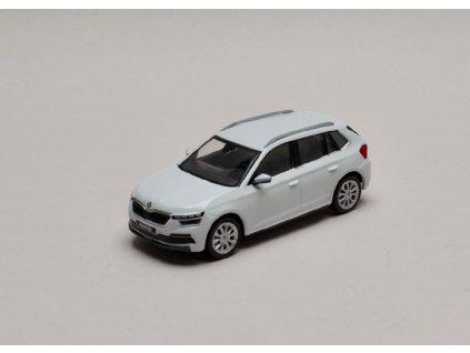 Škoda Kamiq bílá Moon 1 43 i scale 658099300S9R 01