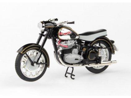 Jawa 500 OHC 1956 černá 1 18 Abrex 100118M 012f 01