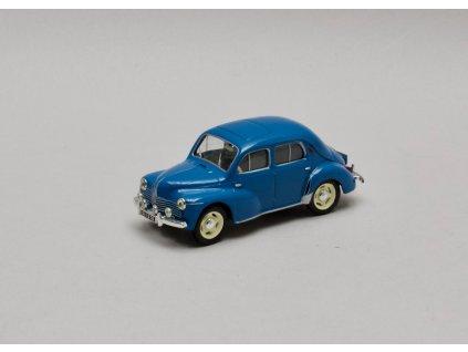 Renault 4CV Luxe 1956 modrá 1:43 Atlas
