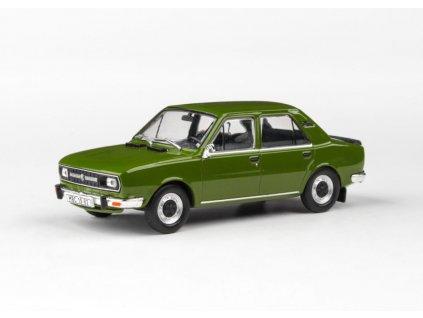 Škoda 120L 1982 úžovka zelená Olivová 1 43 Abrex 143ABS 724QN 01