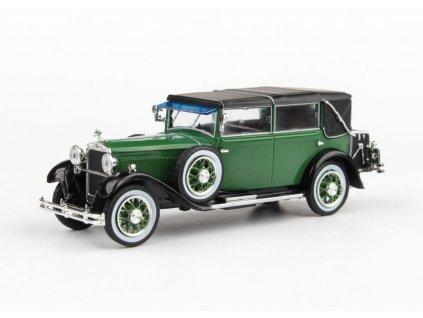 Škoda 860 1932 zelená Tmavá 1 43 Abrex 143ABH 905HY 01