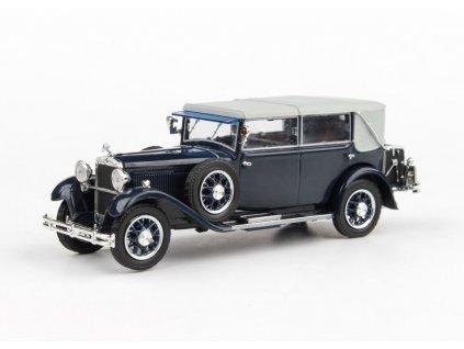Škoda 860 1932 modrá Tmavá 1 43 Abrex 143ABH 905LO 01