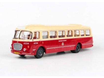 Škoda 706 RTO Autobus MHD Praha 1 43 Abrex 303 143PB 001 01