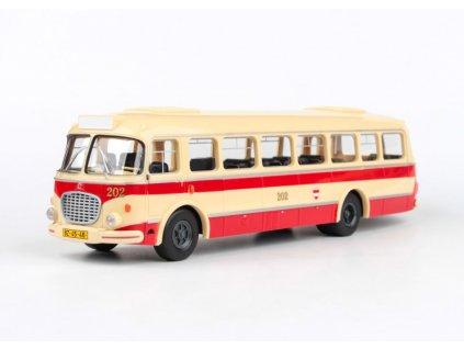 Škoda 706 RTO Autobus MHD Brno 1 43 Abrex 303 143PB 002 01