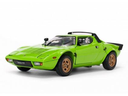 Lancia Stratos stradale 1975 zelená 1 18 Sun Star 4522 01
