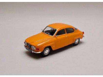 Saab 96 V4 1970 oranžová 1 24 WhiteBox 124031 01