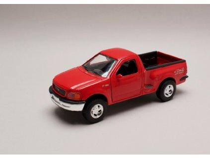 Ford F 150 Regular Cab Flareside 1998 Pick Up červená 1 24 Welly 29391 01