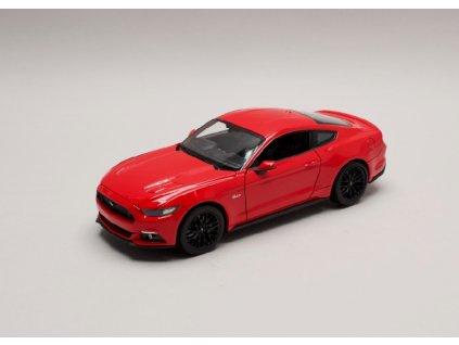 Ford Mustang GT 2015 červená 1 24 Welly 24062 01