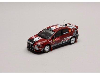 Mitsubishi Lancer EVO X #59 Rally Japan 2008 1 43 IXO KB1042 01