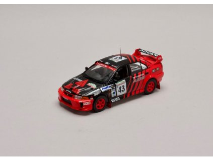 Mitsubishi Lancer EVO V #43 Rally New Zealand 1999 1 43 IXO KB1065 01