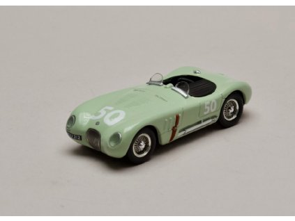 Jaguar C Type #50 Stirling Moss GP Reims 1952 1 43 Atlas 01