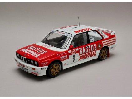 BMW E30 M3 #1 Tour de Corse 1988 1 18 IXO 18RMC040A 01