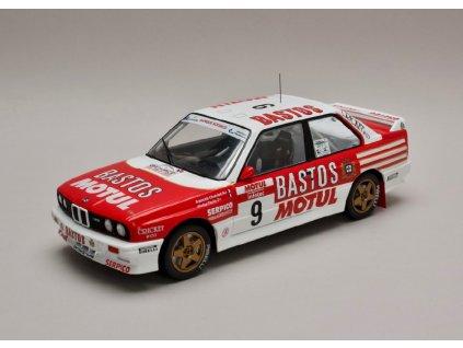 BMW E30 M3 #9 Tour de Corse 1988 1 18 IXO 18RMC040B 01