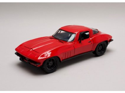 Chevrolet Corvette Letty`s Rychle a zb. (Fast & Furious) 1 24 Jada Toys 98298 01