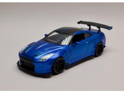 Nissan Skyline GT R R35 Ben Sopra Rychle a zb. (Fast & Furious) 1 24 Jada Toys 98271 01