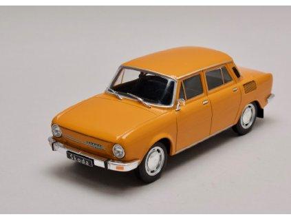Škoda 100 L oranžová 1 24 WhiteBox 124038 01