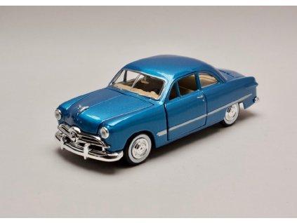 Ford Coupe 1949 modrá metalíza 1 24 Motor Max 73213 01