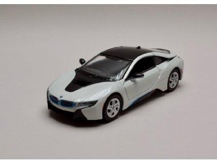 BMW I8 Coupe 2018 bílá černá 1 24 Motor Max 79359 01