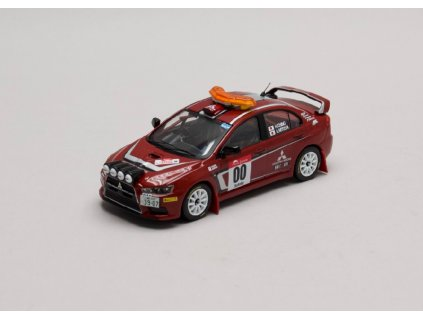 Mitsubishi Lancer EVO X Rally Japan #00 Safety Car 2007 1 43 IXO KB 1043 01