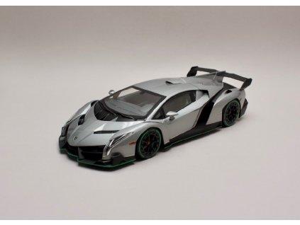 Lamborghini Veneno 2014 šedá 1 18 Kyosho 9501 GRG 01
