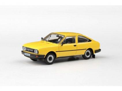 Škoda Garde 1982 žlutá Sluneční 1 43 Abrex 143ABS 722GK 01